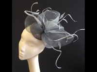 Couture by Beth Hirst Silver Crin Headpiece